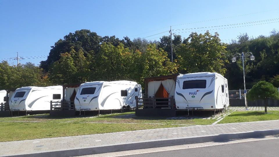 파주 공릉관광지 캠핑장(카라반 내부시공)